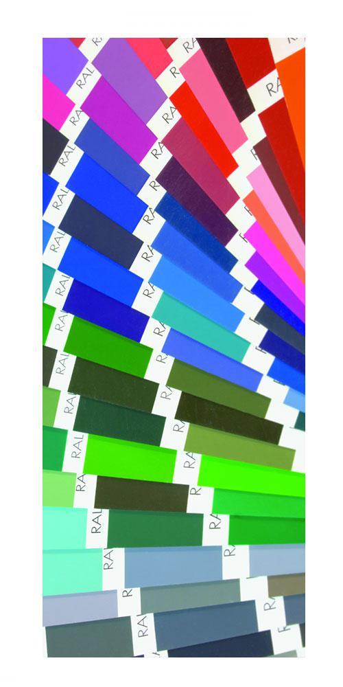 <b>in tutti i colori RAL</b>