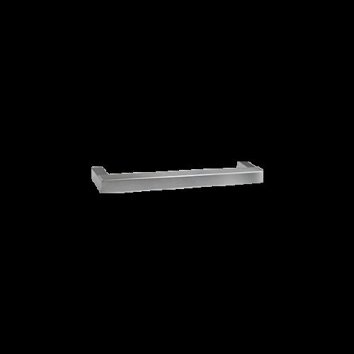 <b>MANIGLIONE SQUARE</b><br>L=320mm<br>Acciaio inox lucido, acciaio inox satinato